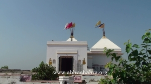 Front view of the mandir, made by Puranmall