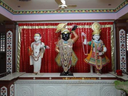 ShreeNathji, Shri Yamuna Maharani, Shri Vallabhacharya