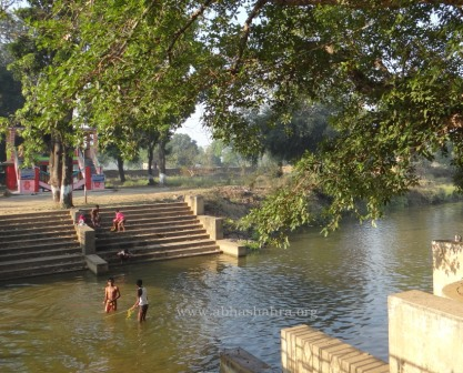 A small Stream of Mahanadi river flows near the temple which is believed to be form Yamuna river and worshipped.