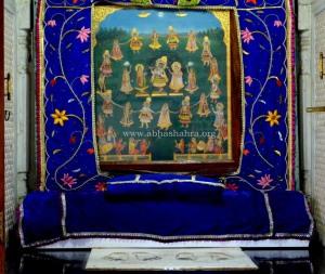 Sacred Maharaas Chavi painting