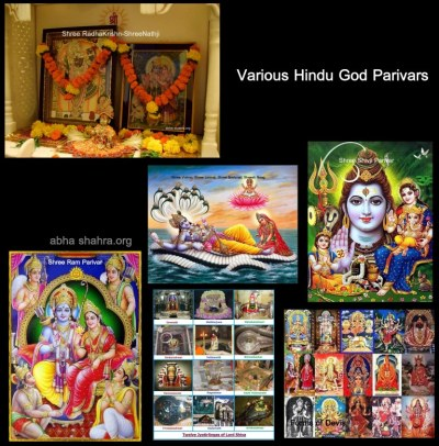 different gods in a mandir
