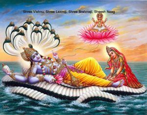 Shree Vishnu Laxmi and Brahmaji