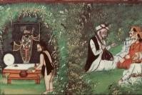 Chatura Naaga offering Bhog to ShreeNathji
